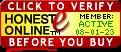 HONESTe Seal - Click to verify before you buy!